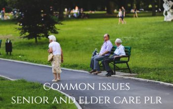 Common Issues With Elder Care PLR